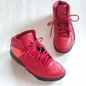 NIKE air Jordan incline BG red basketball shoes